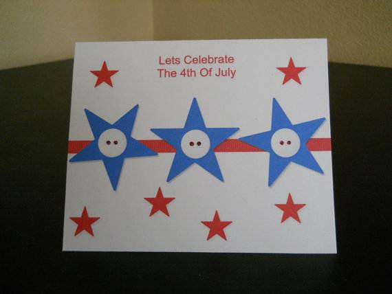 4th July Independence Day Homemade  Greeting Cards (35)