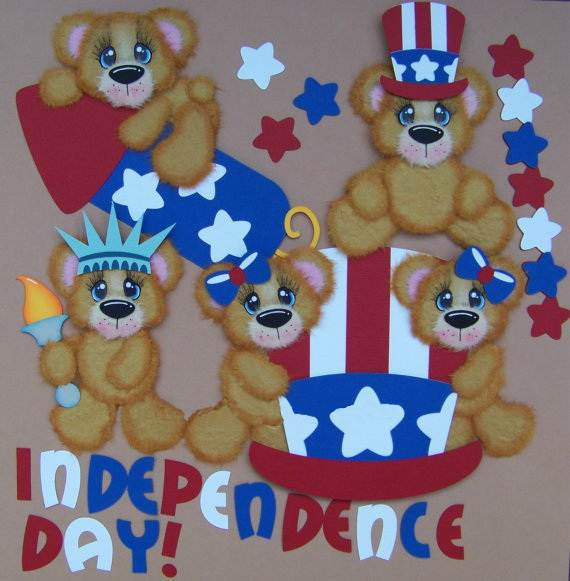 4th July Independence Day Homemade  Greeting Cards (36)