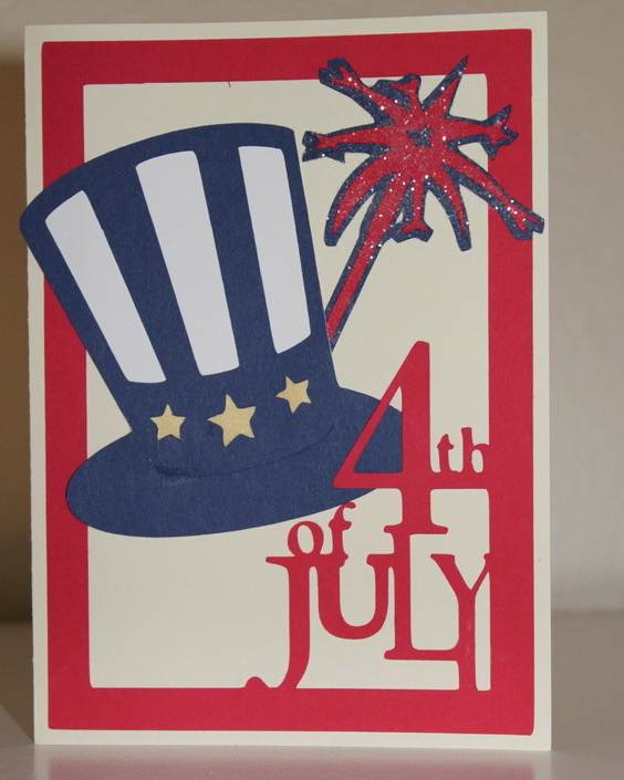4th July Independence Day Homemade  Greeting Cards (47)