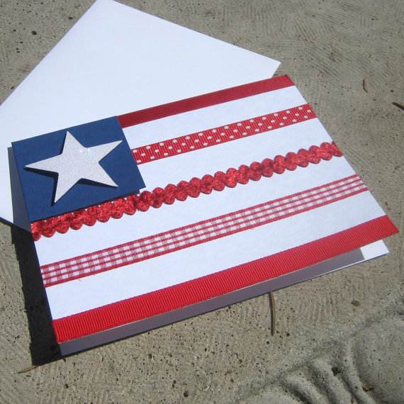 4th July Independence Day Homemade  Greeting Cards (5)