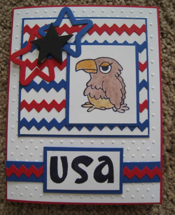 4th July Independence Day Homemade  Greeting Cards (56)