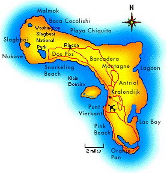 Dutch Caribbean Island Paradise on the ABC Islands Bonaire