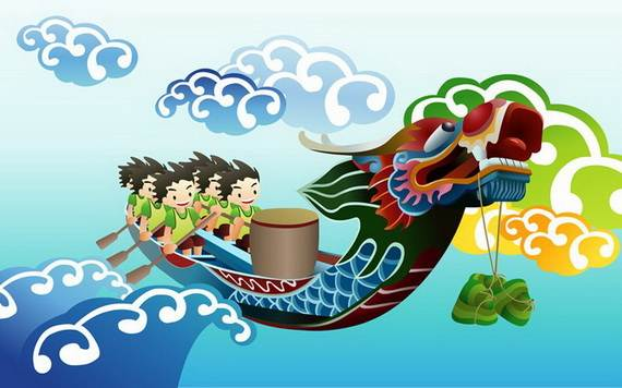Dragon Boat Festival Greeting Cards - family holiday.net/guide to ...