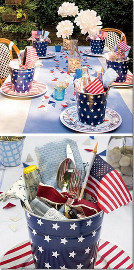 Easy homemade decorations for the 4th of july family for 4 of july decorations