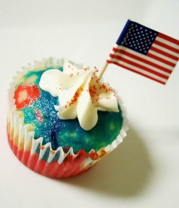 Independence Day Cakes & Cupcakes Decorating Ideas (13)