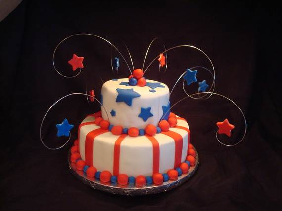 Independence Day Cakes & Cupcakes Decorating Ideas (15)