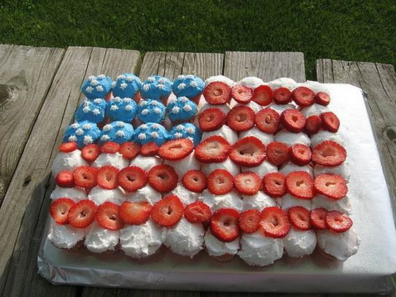 Independence Day Cakes & Cupcakes Decorating Ideas (20)