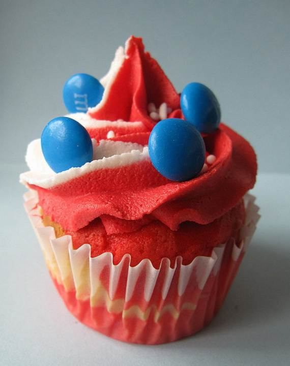 Independence Day Cakes & Cupcakes Decorating Ideas (22)