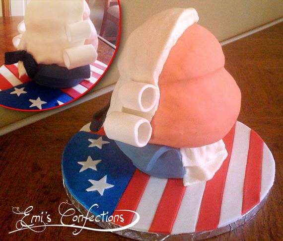 Independence Day Cakes & Cupcakes Decorating Ideas (3)