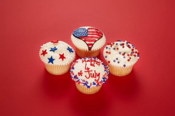 Independence Day Cakes & Cupcakes Decorating Ideas (33)