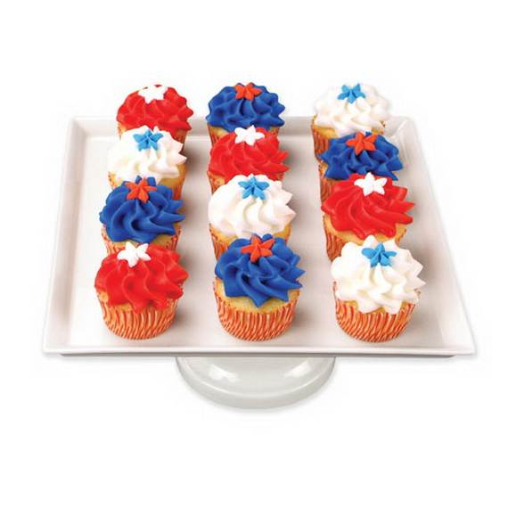 Independence Day Cakes & Cupcakes Decorating Ideas (34)