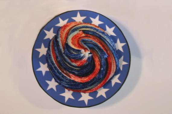 Independence Day Cakes & Cupcakes Decorating Ideas (39)