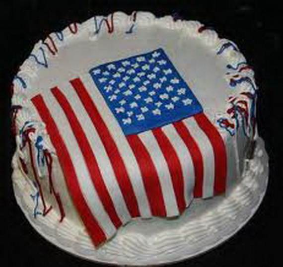 Independence Day Cakes & Cupcakes Decorating Ideas (43)