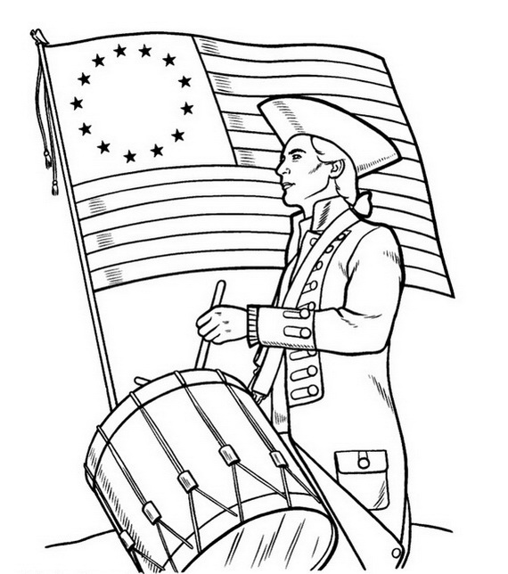 Independence Day Coloring Pages - July Fourth - family ...