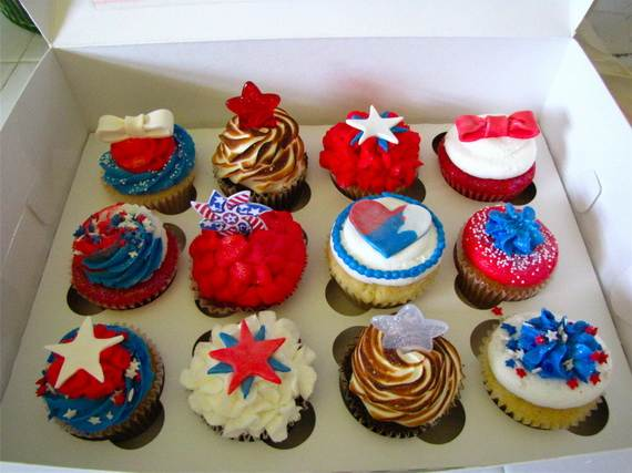 Independence Day Cupcake Patriotic Theme Ideas Family