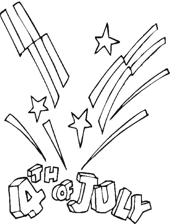 Independence Day (Fourth of July ) Coloring Pages for kids - family ...