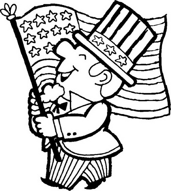 Independence Day (Fourth of July ) Coloring Pages for kids ...