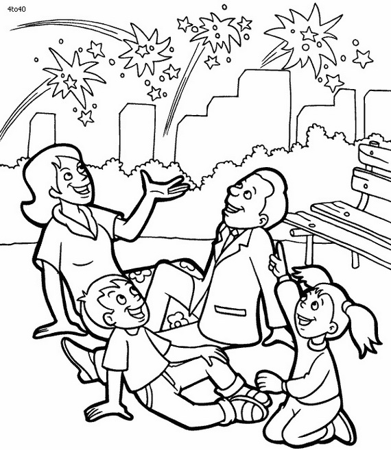 May The 4th Be With You Coloring Page: Independence Day (Fourth Of July ) Coloring Pages For Kids
