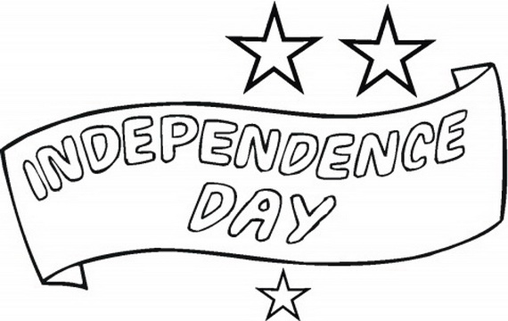 independence day fourth of july coloring pages for kids family