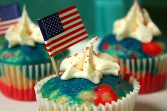 Independence day Cupcakes Decorating Ideas (10)