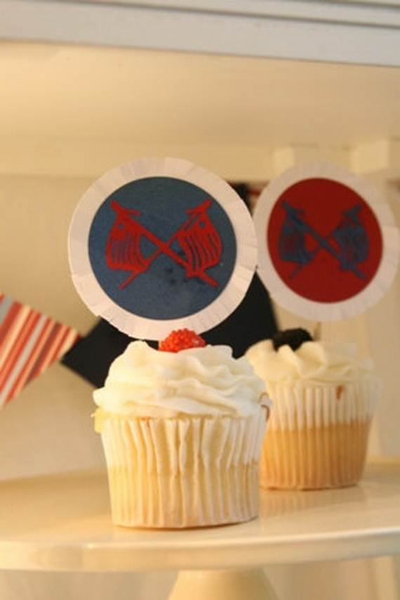 Independence day Cupcakes Decorating Ideas (12)