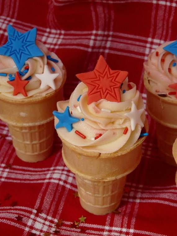 Independence day Cupcakes Decorating Ideas (22)
