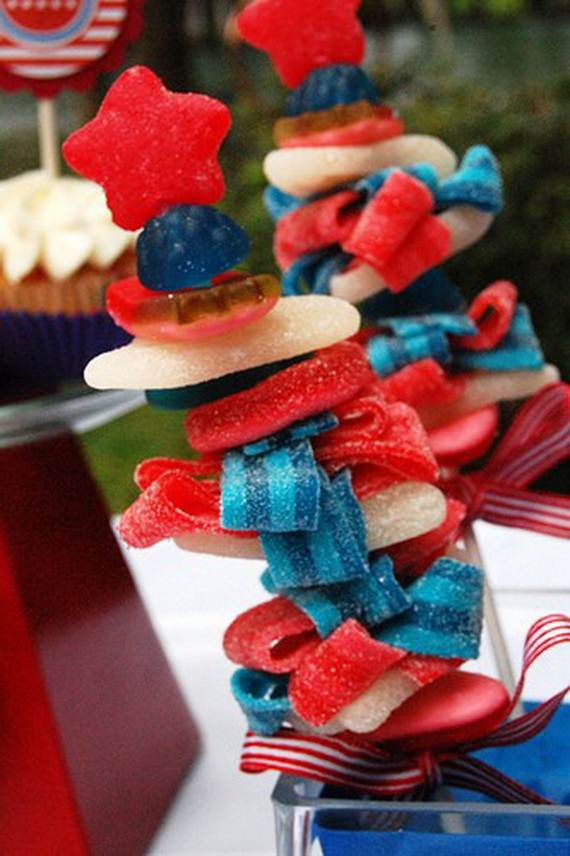 Independence day Cupcakes Decorating Ideas (25)