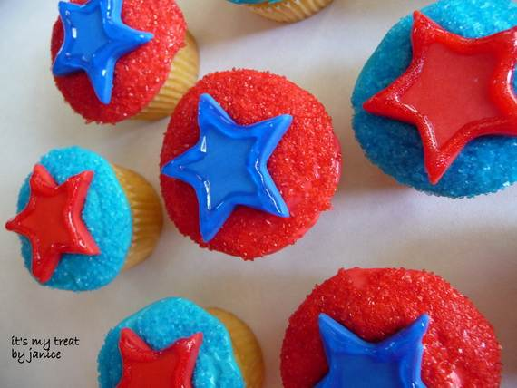 Independence day Cupcakes Decorating Ideas (31)