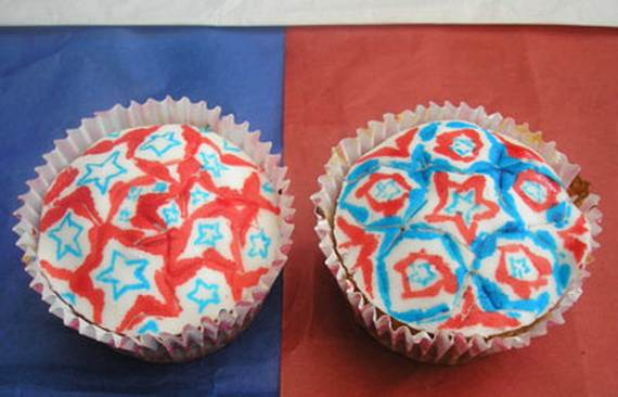 Independence day Cupcakes Decorating Ideas (5)
