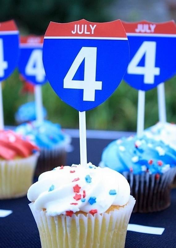 Independence day Cupcakes Decorating Ideas (6)