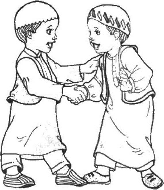 Isra Miraj Islamic Coloring Pages 2012 Family Holidaynetguide To