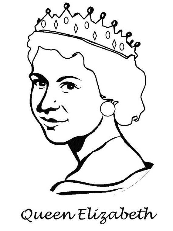 Queen Elizabeth Diamond Jubilee Coloring Pages 11