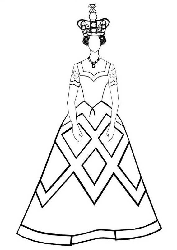 Queen Elizabeth Diamond Jubilee Coloring Pages 201