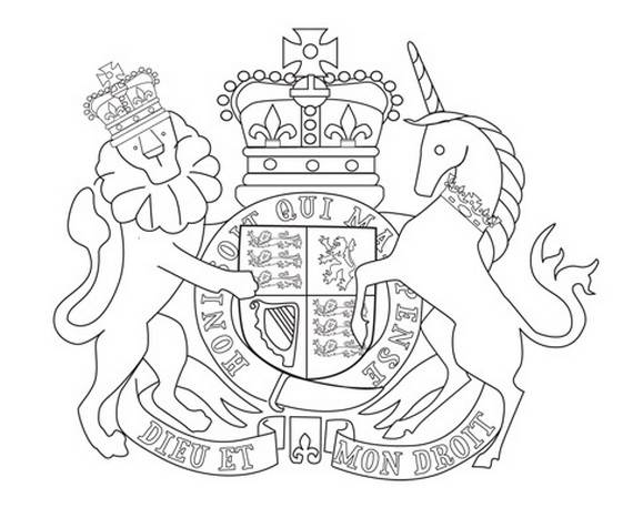 Queen Elizabeth Diamond Jubilee Coloring Pages 34