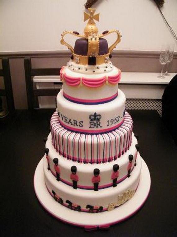Queen Elizabeths Diamond Jubilee Cakes Amp Cupcakes