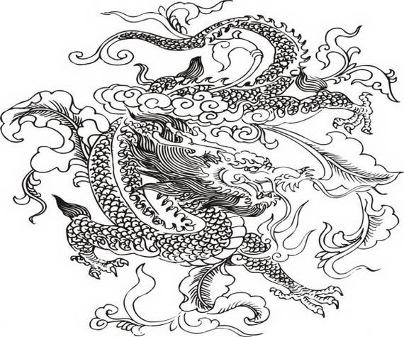 dragon adult coloring pages - photo#22