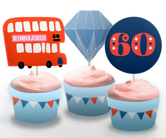 Queens Diamond Jubilee Cake amp Cupcakes Family Holiday