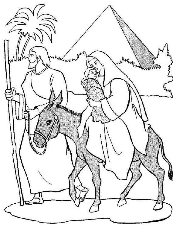 assumption of mary coloring pages - photo#34