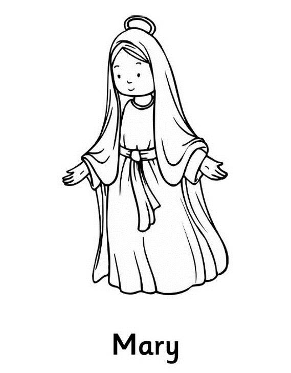 Blessed Virgin Mary Coloring Pages Car Pictures