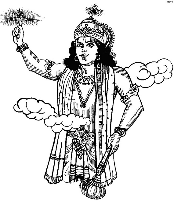 Janmashtami Festival Coloring Pages Family Holiday Net Guide To