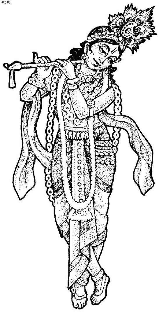 lord krishna coloring pages  28 images  krishna coloring page 3