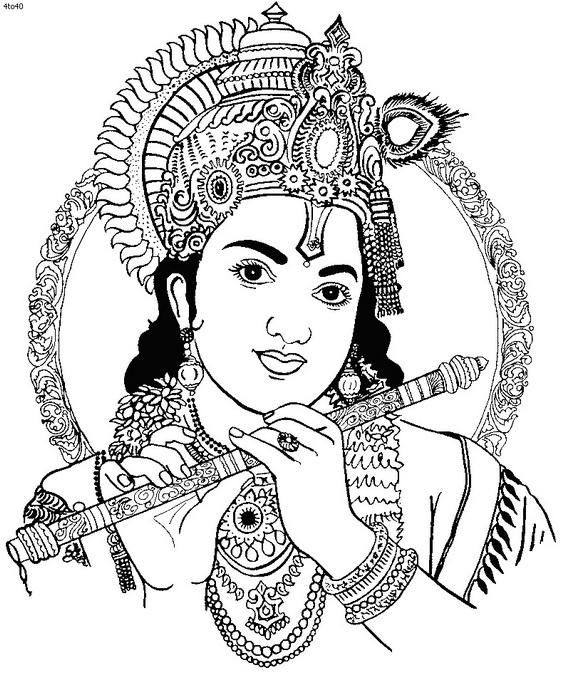 clipart of lord krishna - photo #39