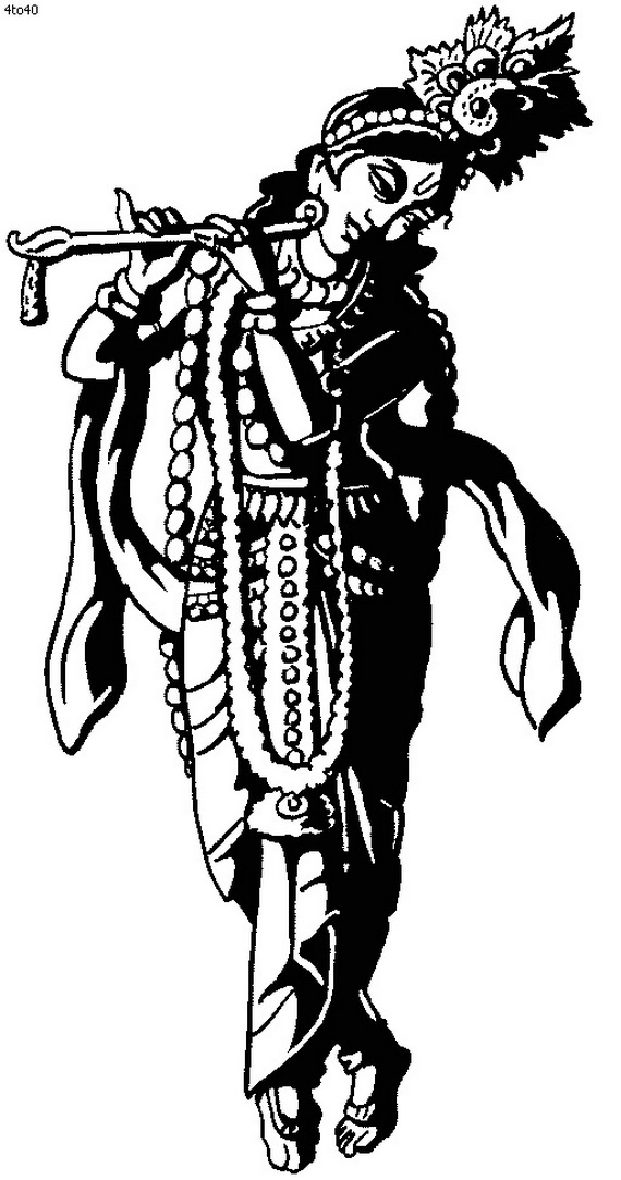 clipart of lord krishna - photo #25