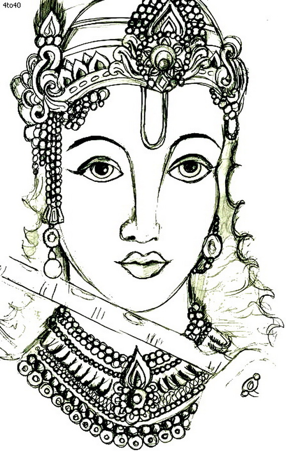 Janmashtami Festival Coloring Pages  family holidaynetguide to