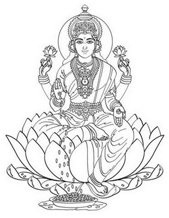 related posts shri krishna janmashtami coloring printable pages - Baby Krishna Images Coloring Pages