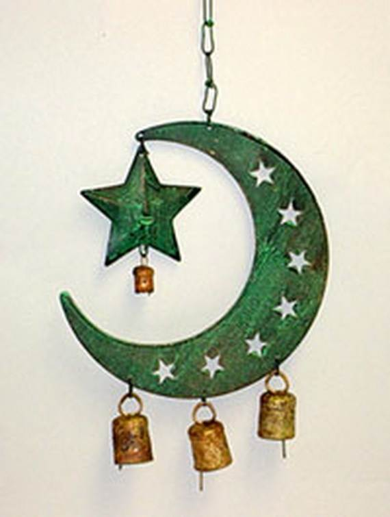 Sun And Moon Home Decor Accessories For Ramadan Family