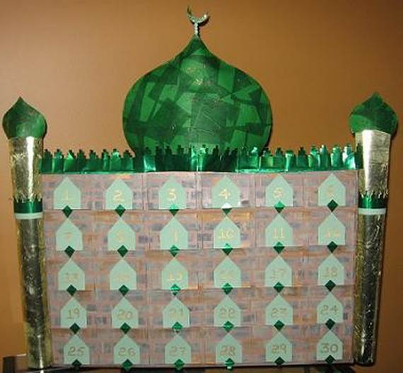 Ramadan garlands and paper decoration ideas family for Ramadan decorations at home