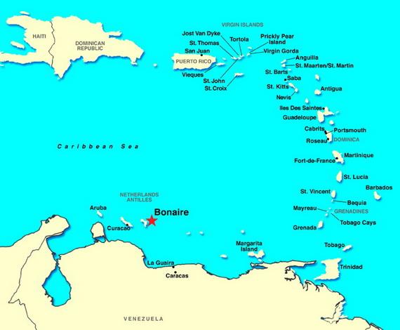 Dutch Caribbean Island Paradise on the ABC Islands Aruba Bonaire