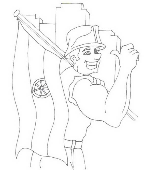 Free Printable Labor Day Coloring Page Sheets for Kids (18)