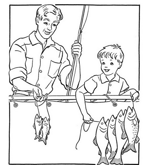 coloring pages for grandparents - photo#30